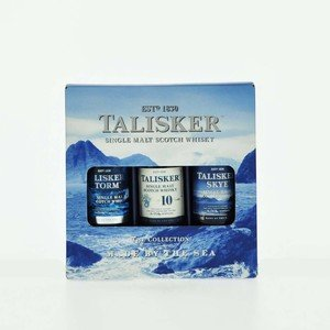 Talisker Miniature Pack Single Malt Scotch Whisky - 3 x 5cl, 45.8% vol.