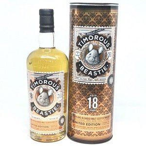 Timorous Beastie  - 18 Year Old Blended Malt (70cl, 46.8% ABV)
