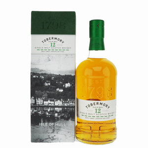 Tobermory 12 Year Old Single Malt Scotch Whisky - 70cl, 46.3%