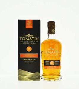 Tomatin Moscatel Wine Finish 15 Year Old Single Malt Scotch Whisky - 70cl, 46% vol.