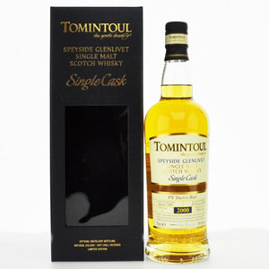 Tomintoul 2000 PX Sherry Butt - Single Cask Malt Scotch Whisky- 70cl, 55.8% vol.
