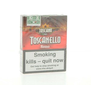 Toscano Toscanello Rosso Pack of 5 Cigars