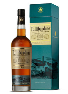 Tullibardine 500 Sherry Finish Single Malt Scotch Whisky 43% 70cl