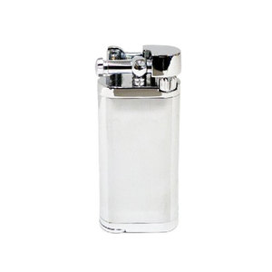 Tycoon Pipe Lighter with Pipe Tamper - Chrome Finish