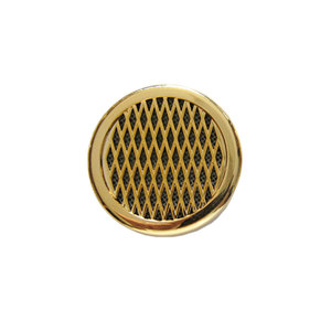 Round Humidifier - Gold - up to 25 cigars capacity