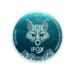 White Fox Double Mint Chew Bags