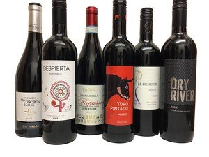 Red Wine Bundle - 6 x 75cl