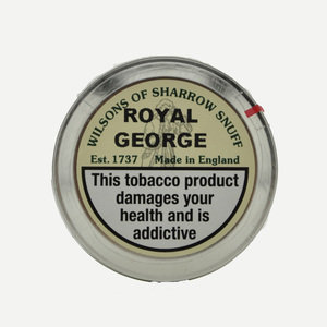 Wilsons of Sharrow - Royal George Snuff Large Tin 20g
