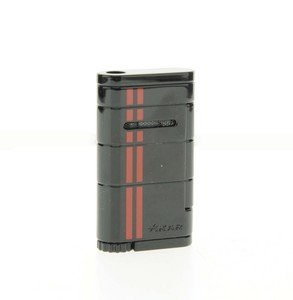 Xikar Allume Single Jet Lighter - Black & Red (532BKRD)