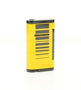 Xikar Allume Single Jet Lighter - Yellow & Black (532YLBK)