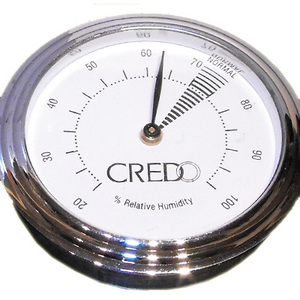 Credo Analogue Hygrometer Chrome