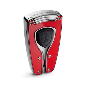 Lamborghini Forza Red Carbon Fiber Torch Lighter