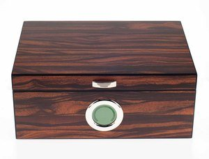 Angelo 50 Size Humidor with Digital Hygrometer (HUW650)