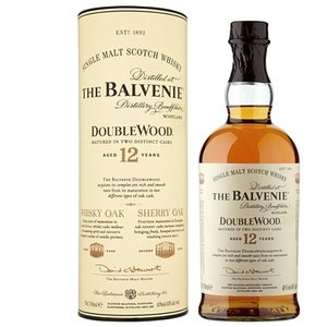 Balvenie 12 years Double Wood Single Malt Scotch Whisky (70cl 40%)