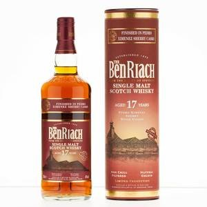 Benriach 17 Year Old Pedro Ximenez Sherry Wood Finish 70cl, 46% Vol