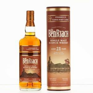 Benriach 21 Year Old Tawny Port Wood Finish 70cl, 46% Vol