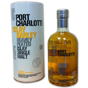 Port Charlotte Heavily Peated Islay Barley 2008 Single Malt Scotch Whisky 70cl, 50% Vol