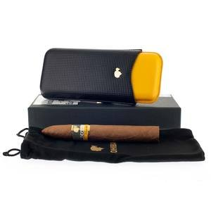 Cohiba Piramides Extra Leather Pouch (3 cigars)