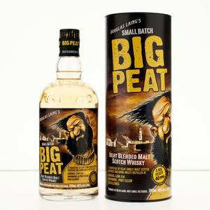 Big Peat Blended Islay Malt Scotch Whisky In Gift Tube 46% 70Cl