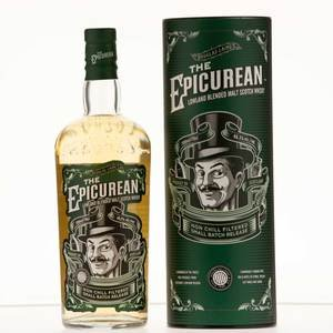 The Epicurean Lowland Blended Malt Scotch Whisky 70cl, 46.2% Vol