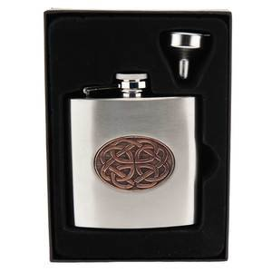 Celtic Rose Hip Flask (CEL972)