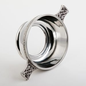 Glass Bottom Quaich (PQ515)