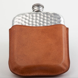 Hammered Purse Hip Flask (PLF03)