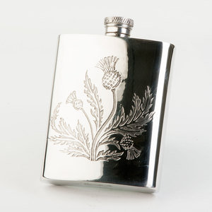 Thistle Hip Flask (SG325)