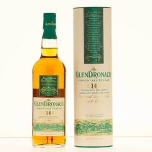 Glendronach 14 Year Old Virgin Oak Finish Single Malt Scotch Whisky 70cl, 46% Vol