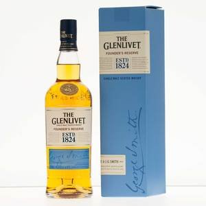 Glenlivet Founder's Reserve Single Malt Scotch Whisky  70cl, 40% Vol