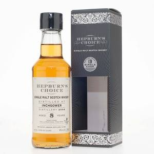 Inchgower 2008 7 Year Old, Hepburn's Choice (20cl, 46% vol)