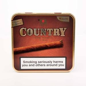 Country Wilde Cigar's Tin of 10