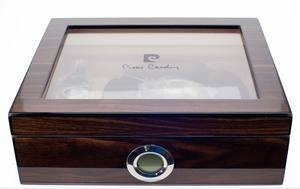 Pierre Cardin Cigar Cutter, Ashtray and Humidor Gift Set - (PC-17)