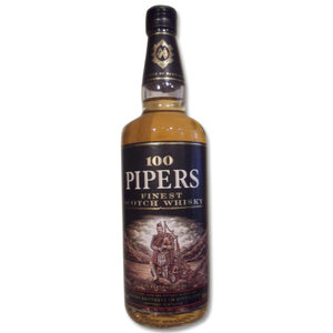 100 Pipers Scotch Whisky 70cl 40%