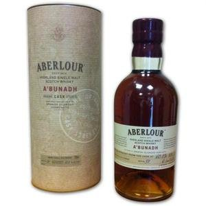Aberlour Single Malt Scotch Whisky A'Bunadh No Age Cask Strength 70Cl