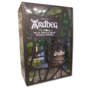 Ardbeg 10 year old gift set 70cl 46%