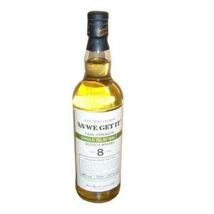 As We Get It Islay 8 Years Old Islay Whisky (70cl 58%)