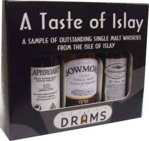 A Taste of Islay Miniature Gift Set 3x5cl