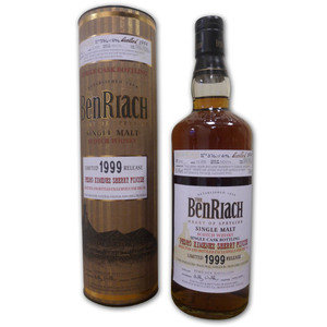 Benriach 1999 Single Cask PX Single Malt Scotch Whisky (70cl 55.4%)
