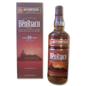 BenRiach Authenticus Peated 25 years - 70cl 46%