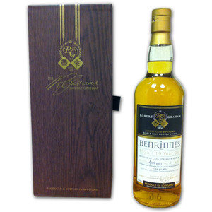 Robert Graham Treasurer's Selection Benrinnes 1995 19 Year Old Single Malt Scotch Whisky 50.5% 70cl