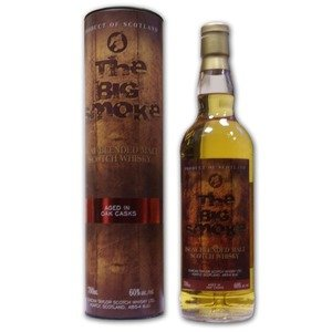 Big Smoke 60 Blended Malt Scotch Whisky 60% 70Cl