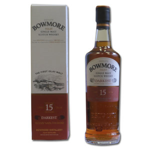 Bowmore 15 years Darkest - 35cl 43%