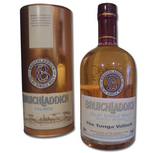 Bruichladdich - The Tonga Valinch Commemorative Bottling Distilled 1989 (50cl, 57% ABV)