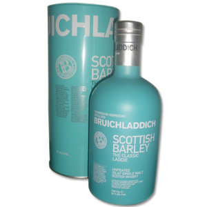 Bruichladdich Scottish Barley Single Malt Scotch Whisky 50% 70cl