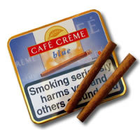 Cafe Creme Blue - Tin of 10