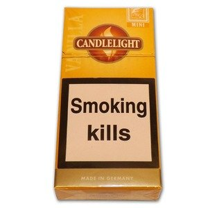 Candlelight Aroma - Vanilla Mini Cigarillos - Pack of 10