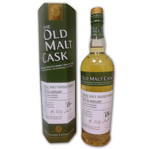 Caol Ila 18 years old (Old Malt Cask) 1996-2014 Single Malt Scotch Whisky  70cl 50%