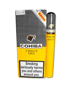 Cohiba Siglo III Tubed Cigar - Pack of 3