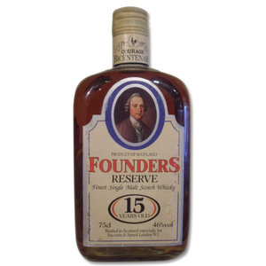 Courage Bicentenary - 15 years old Founders Reserve 75cl 46%